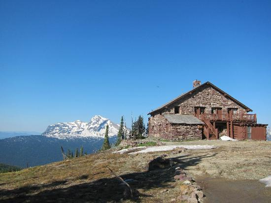 Granite Park Chalet: Hard to top that