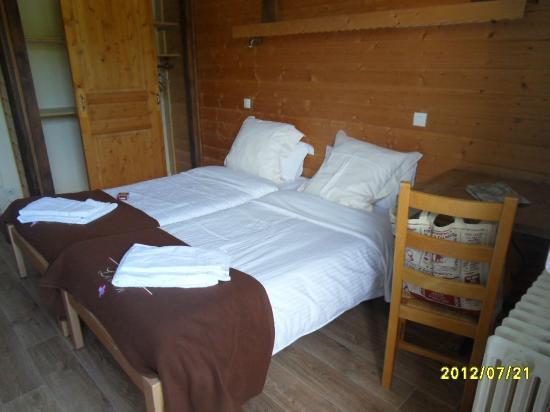 Les Cimes du Leman: les chambres