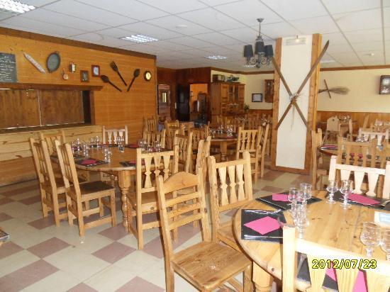 Les Cimes du Leman: salle à manger