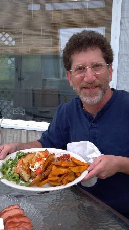 Mike's Seafood: Fish Tacos! YUM!