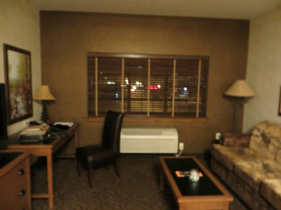 Stoney Creek Hotel & Conference Center - Sioux City : Sofa Bed and desk