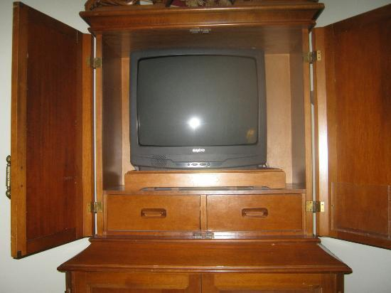 The Victoria Inn: TV Set w/cable
