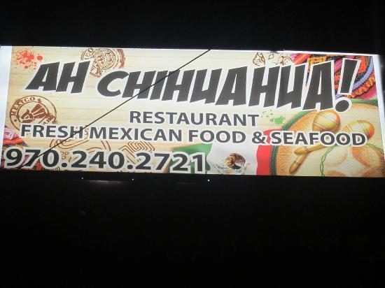 Ah Chihuahua!: Our street sing.