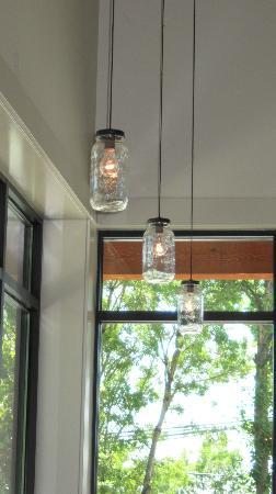 Canning Jar Light Fixtures Picture Of Red Hills Market