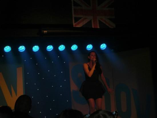 Dawlish Sands Holiday Park - Park Holidays UK: Late night entertainment :-(