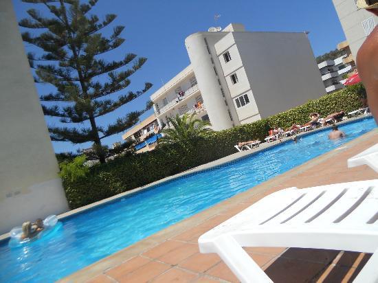 Hostal NWT Sunset Ibiza: pool