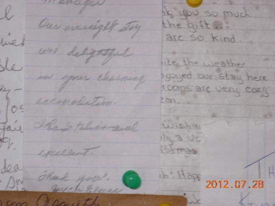 سينشري 2 موتل: guest letter