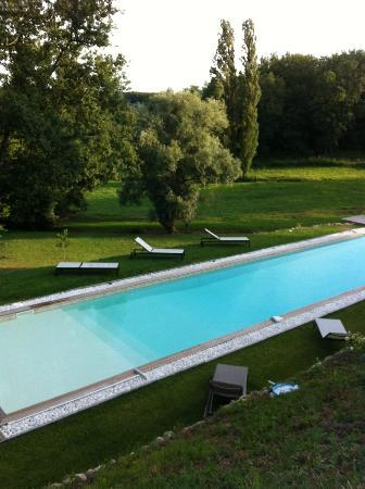 Maison D'hotes Bordeaux Saint Emilion : Villa Beylie: La piscine