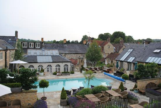 Feversham Arms Hotel & Verbena Spa: The view from Room 33 (Poolside Suite)