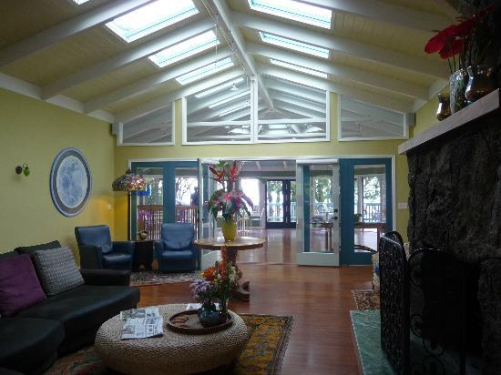 Waianuhea Bed & Breakfast: Lounge/Lobby/Living Room