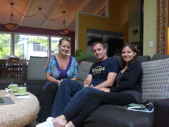Waianuhea Bed & Breakfast: us with Randy (B&B manager)