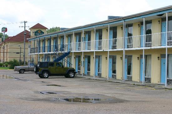Scottish Inns Vicksburg : The rooms at the back