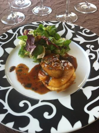 Montignac, Frankrig: foie gras poêlé