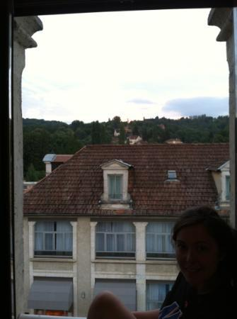 BEST WESTERN Le Renoir: view from our room