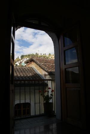 Hostal La Ronda : view from room1