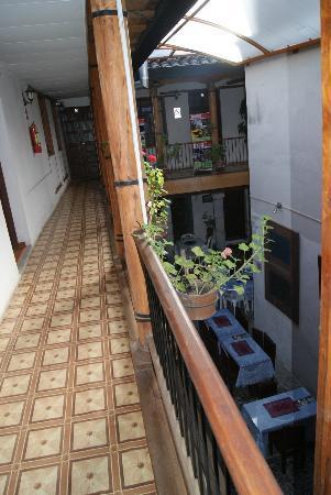 Hostal La Ronda : dining area in the hostal