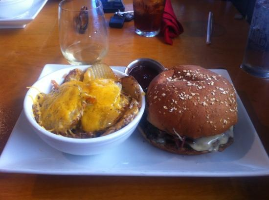 The Eagle Drive-In: Awesome burger + Homemade Scalloped Potatoes!!