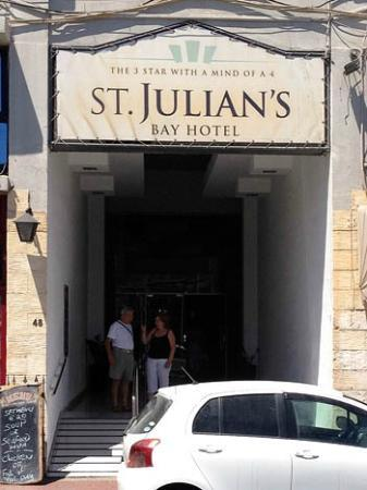 St. Julian's Bay Hotel: Most ridiculous sign seen ever