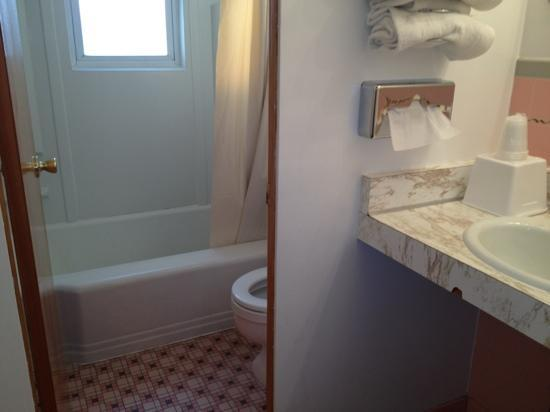 Sidney Motor Lodge: bathroom