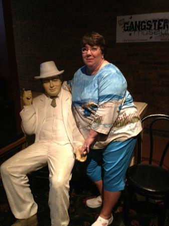 Gangster Museum of America: Me and Al Capone hanging out!