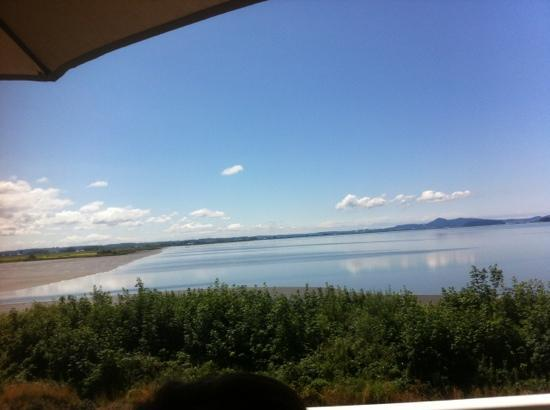 Chuckanut Manor Restaurant: view from our table