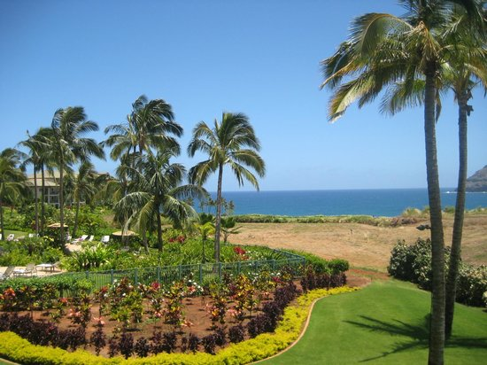 Marriott's Kauai Lagoons - Kalanipu'u: the view from our room