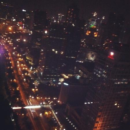 HARRIS Suites FX Sudirman: view of the city from 47th room