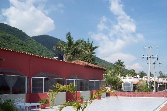 Casa de la Abuela: Vista de la terraza