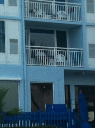 Islander Beach Resort: Balcony view