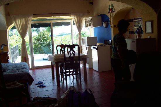 Casa de la Abuela: Cocineta de habitación