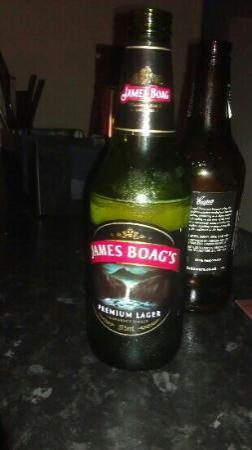 Zute Lounge, Bar & Kitchen : James Boag's