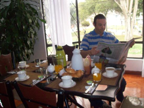 A Bogota On Holidays: en el desayuno
