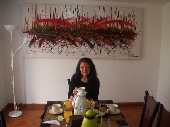 A Bogota On Holidays: arte