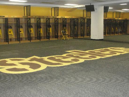 Heinz Field: steelers locker room