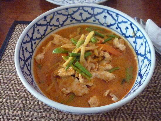 Bird Thai Restaurant: pollo al curry