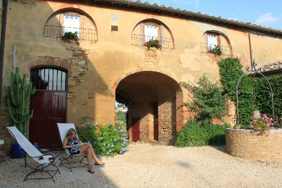 Agriturismo Marciano: The exterior of the Agritursimo