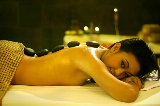 Palmarosa Spa: Massage:Tropical mango, tangerine, coconut, grapes, monoi..., Deluxe relaxation, 4-hands, Deep