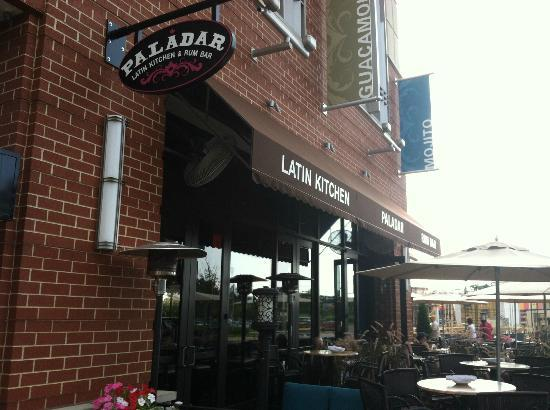Paladar Latin Bar and Restaurant: Outdoor seating is available