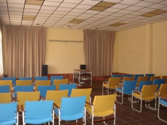 Hotel Castelnuovo De Atacames: Salón de Convenciones