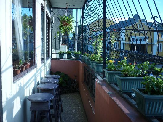 Cala Inn Bed & Breakfast Hotel: Terrace