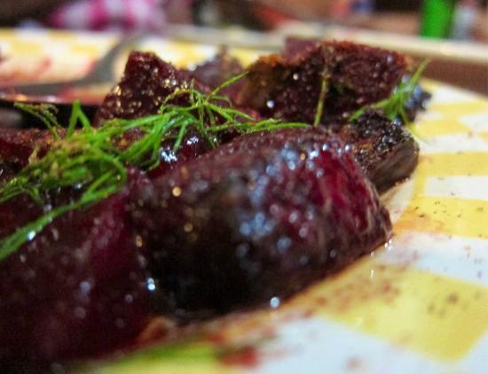 Kebab Cafe: roasted beet salad