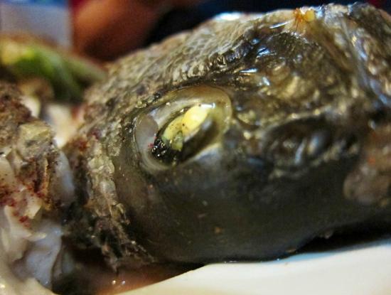 Kebab Cafe: baked fish