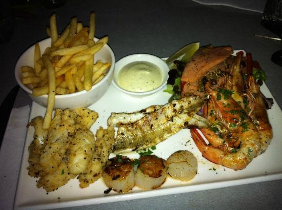 Mia Cucina: Seafood Platter for One
