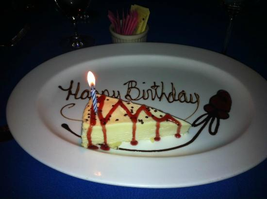 Hugo's Cellar: Happy Birthday White Chocolate Mousse cake