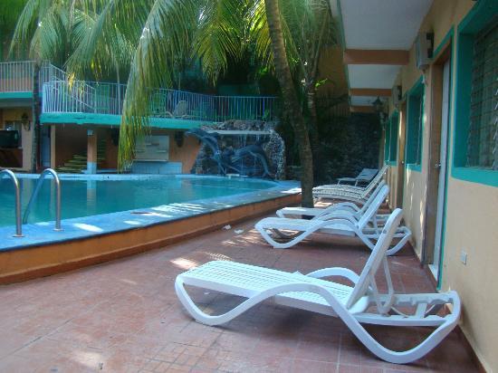 Amapala, Ονδούρα: Área de la piscina