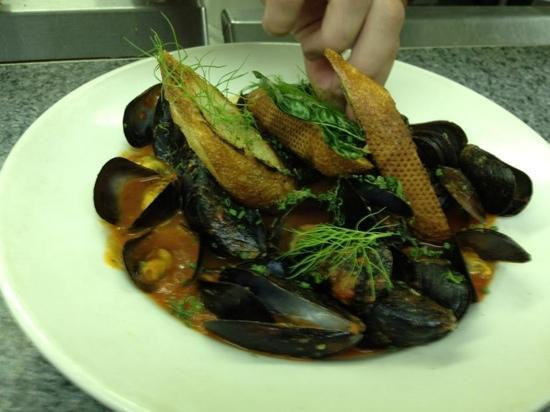 One Fish, Two Fish Restaurant: Tequila Mussels