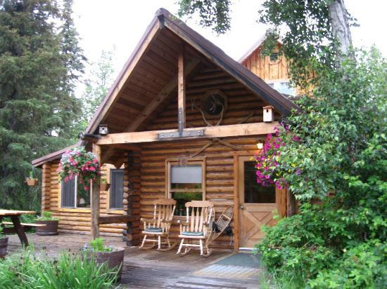 Kenai Riverside Lodge: Main-Lodge-with-Dining-Room