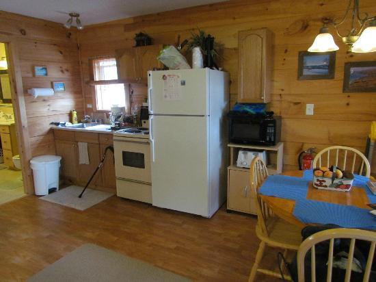 Sea Parrot Ocean View Manor Resort: Our kitchen