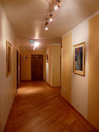 Krone Hotel-Traben Trarbach: de gang naar de kamers...