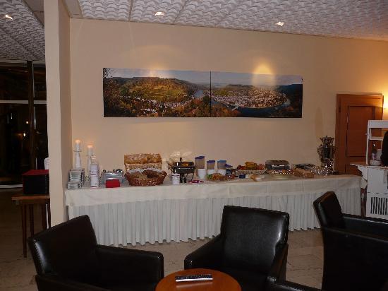 Krone Hotel-Traben Trarbach: Prima ontbijt buffet...